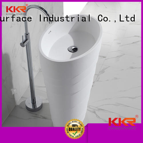 Wholesale acrylic bathroom free standing basins quality KingKonree Brand