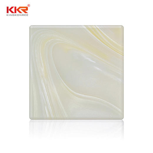 white translucent stone suppliers custom for hotel KingKonree