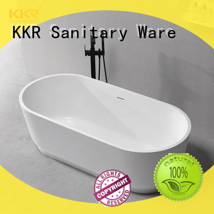 KingKonree solid surface freestanding tubs ODM for shower room