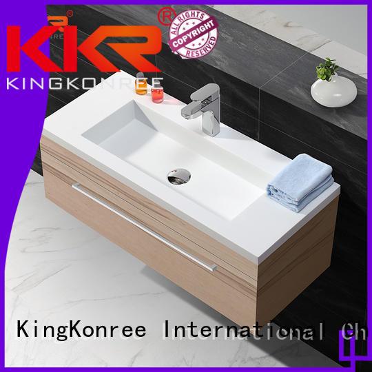 design royal basin with cabinet price KingKonree manufacture