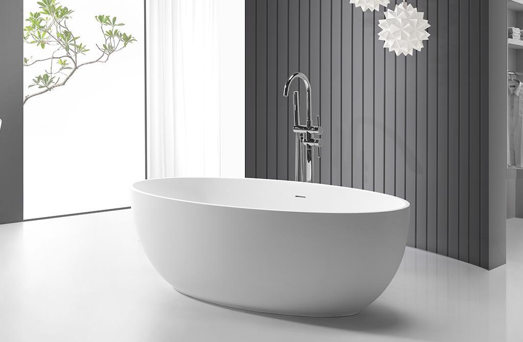 KingKonree finish large freestanding bath OEM for bathroom-1