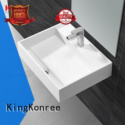 KingKonree high-end corian wash basin for wholesale for shower room