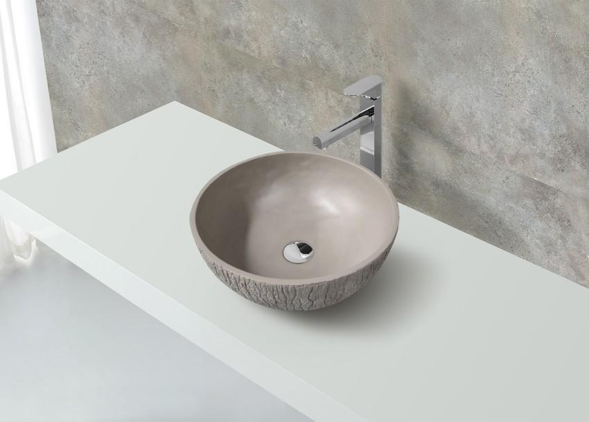 KingKonree elegant small countertop basin at discount for hotel-1