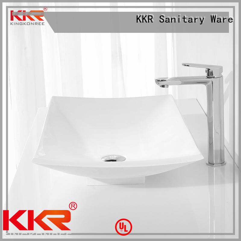 best quality above counter vessel manufacturer for hotel KingKonree