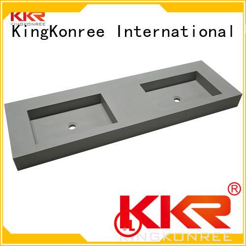 wall mounted bathroom basin fancy hanger Bulk Buy slope KingKonree