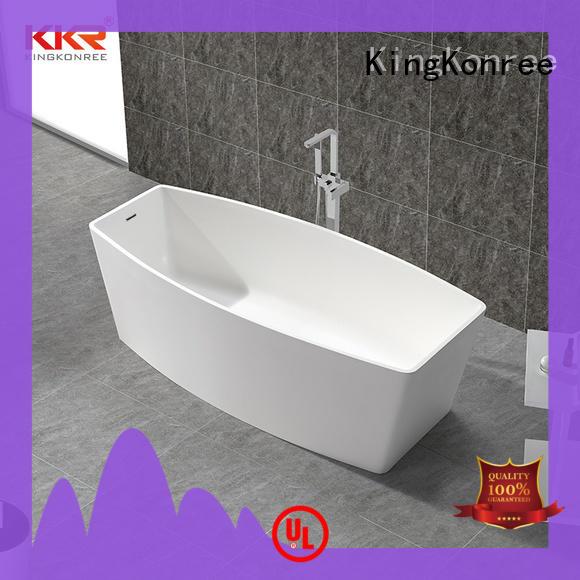 solid surface bathtub free design KingKonree
