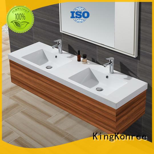 KingKonree quality wash basin with cabinet hindware supplier for bathroom
