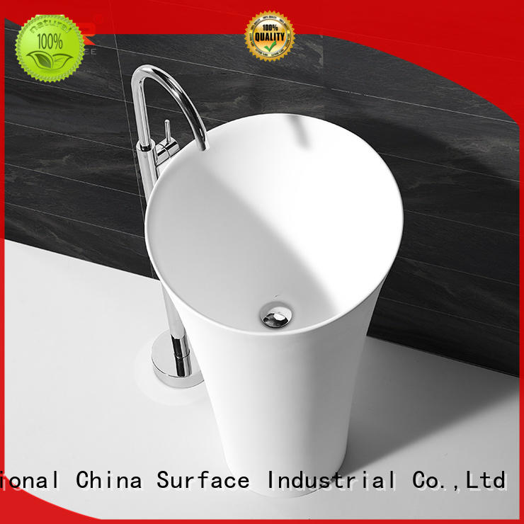 high-end corian wash basin on-sale for shower room