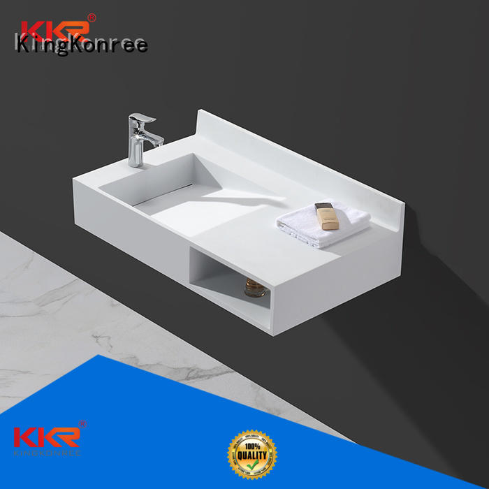 Wholesale ware wall mounted bathroom basin unique KingKonree Brand