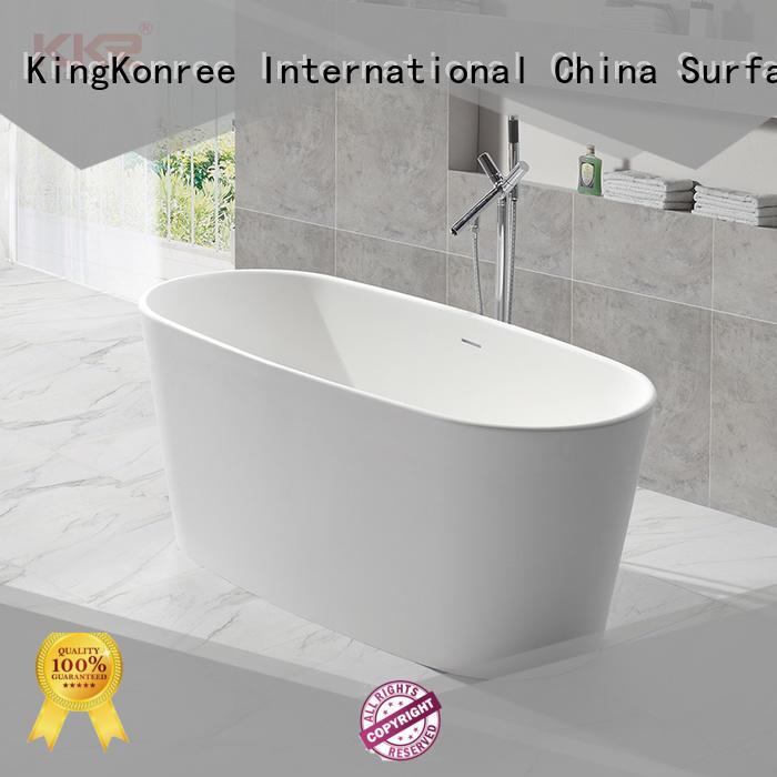 free stand bath tubs marble KingKonree