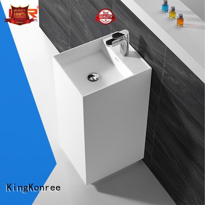 white modern sanitary ware gray fot bathtub KingKonree