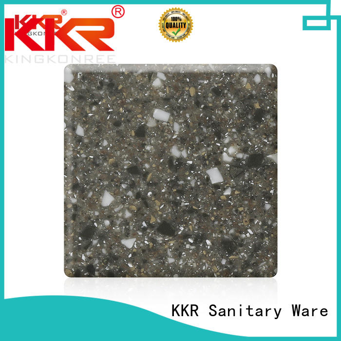KingKonree white solid surface sheets supplier for home