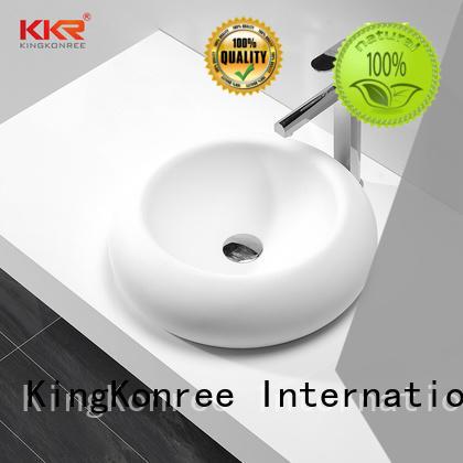 KingKonree pure bathroom countertops and sinks standard for room