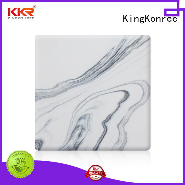 solid surface sheets customized for room KingKonree