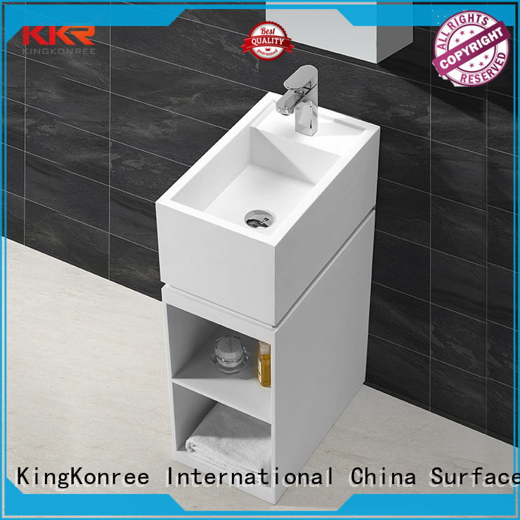KingKonree solid surface basin on-sale for hotel