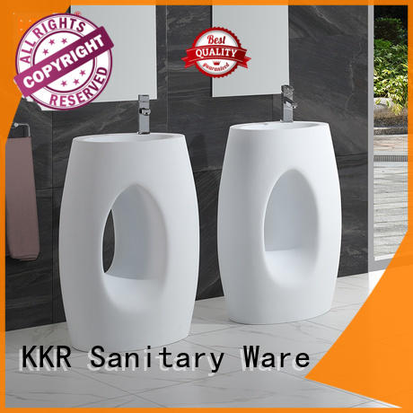 KingKonree freestanding bathroom basin factory price for motel