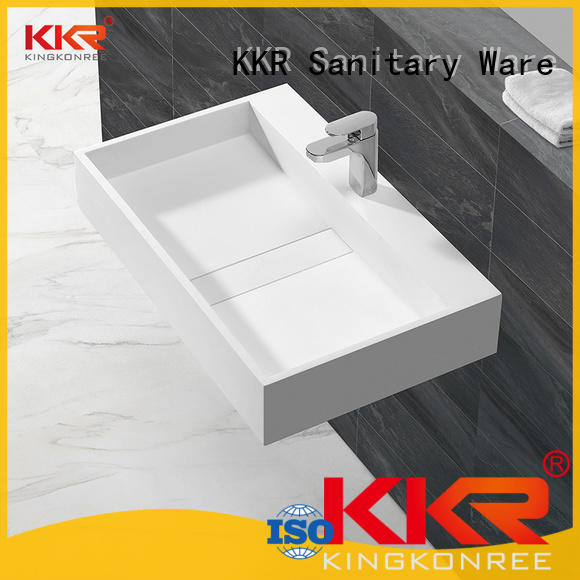 white bathroom sanitary ware black fot bathtub KingKonree