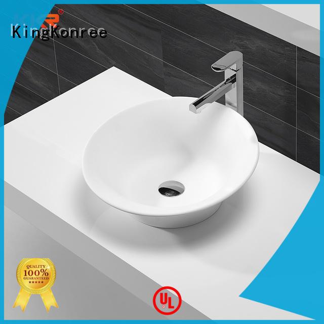 KingKonree bathroom countertops and sinks cheap sample for restaurant