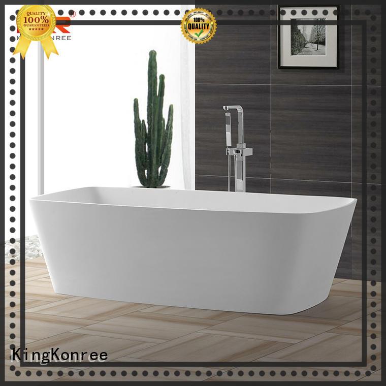 matt acrylic freestanding tub OEM for shower room