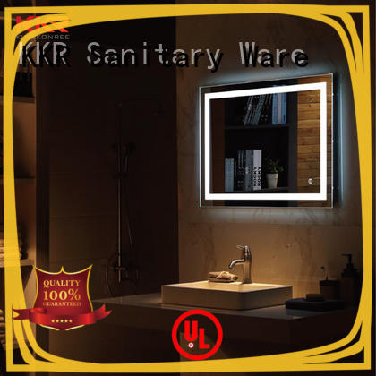 KingKonree modern bathroom mirrors high-end for toilet
