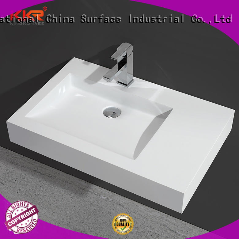 modern wall hung small cloakroom basin manufacturer for bathroom