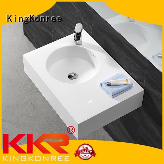 selling wall mounted bathroom basin wall KingKonree company