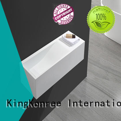 KingKonree acrylic bathroom sanitary ware customized for bathroom