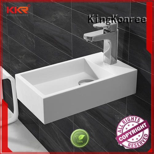 classic small wall hung basin manufacturer for hotel