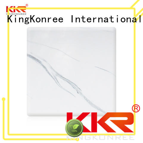 KingKonree solid surface sheets for sale customized for indoors