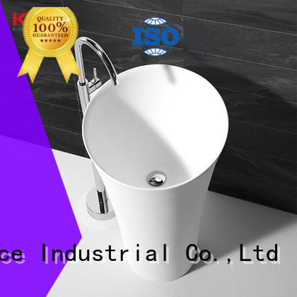 sturdy solid surface basin top-brand for hotel