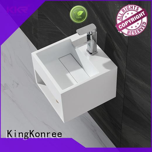 KingKonree unique wall mounted wash basins manufacturer for toilet