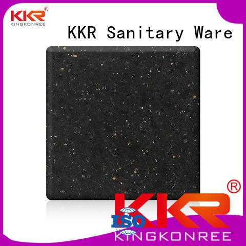 KingKonree Brand solid acrylic solid surface sheet acrylic supplier