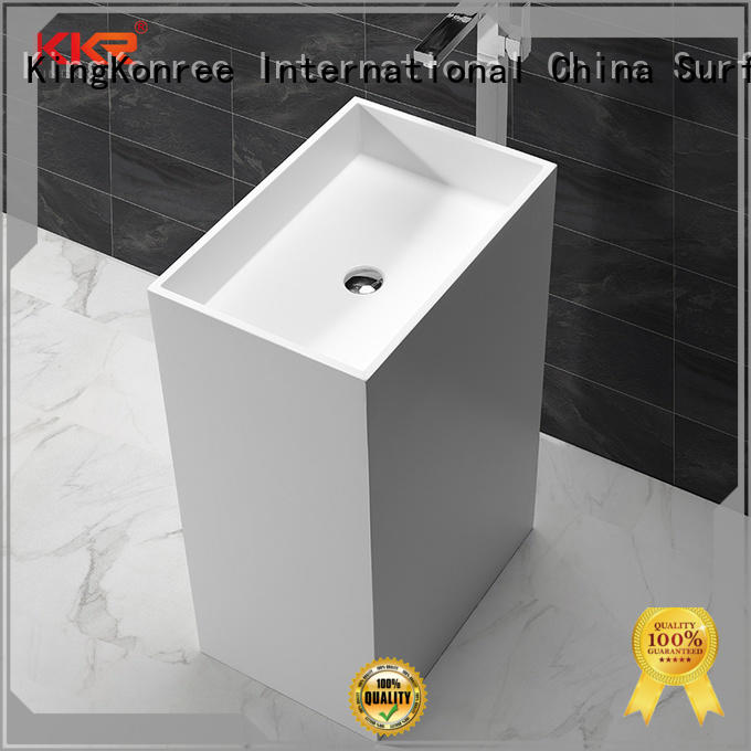 best material solid surface sink on-sale for family