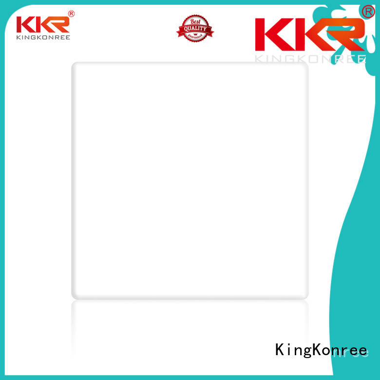 KingKonree solid surface countertops cost customized for hotel