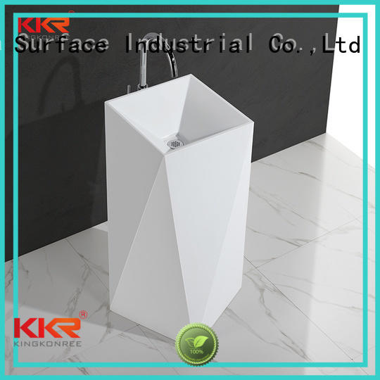 stand diamond fancy basin bathroom free standing basins KingKonree Brand