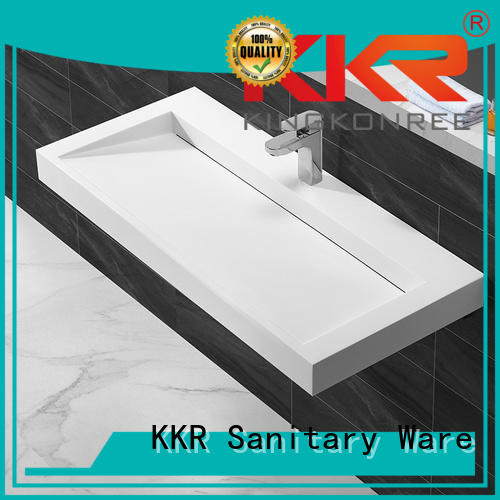 Quality KingKonree Brand mount wall mounted wash basins
