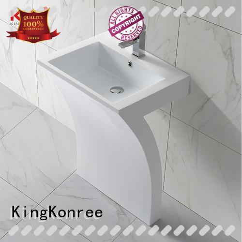 KingKonree freestanding bathroom basin manufacturer for bathroom