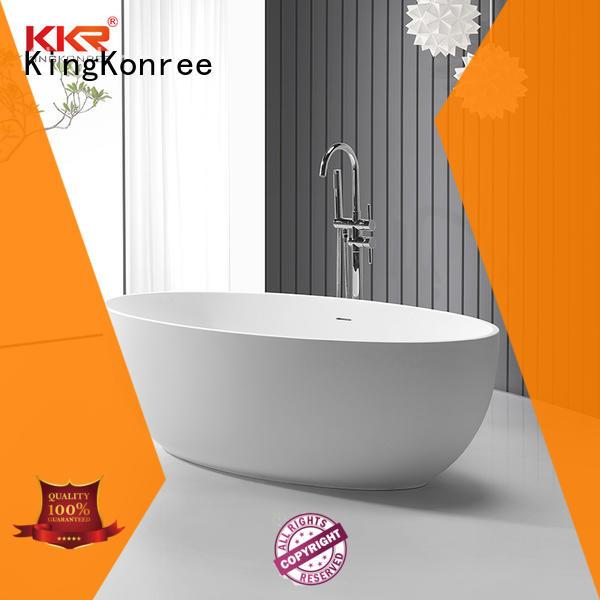 KingKonree finish large freestanding bath OEM for bathroom