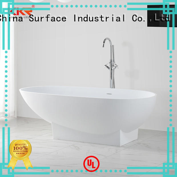 KingKonree on-sale stand alone acrylic bathtubs finish for family decoration