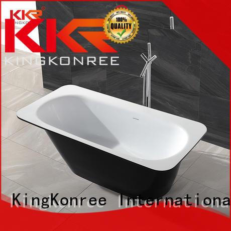 KingKonree small freestanding soaking tub at discount for hotel