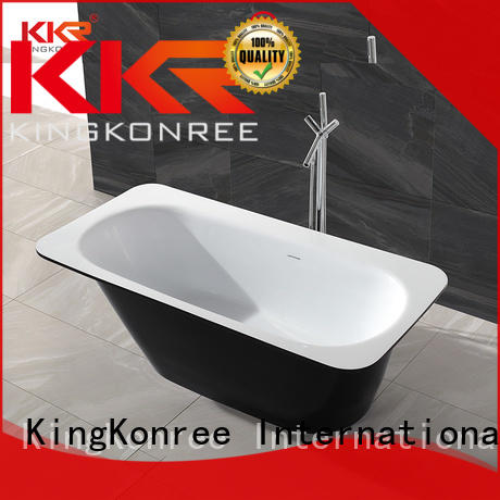 KingKonree small freestanding soaking tub at discount for hotel