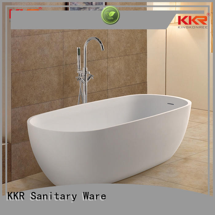b001 round b009 solid surface bathtub design KingKonree