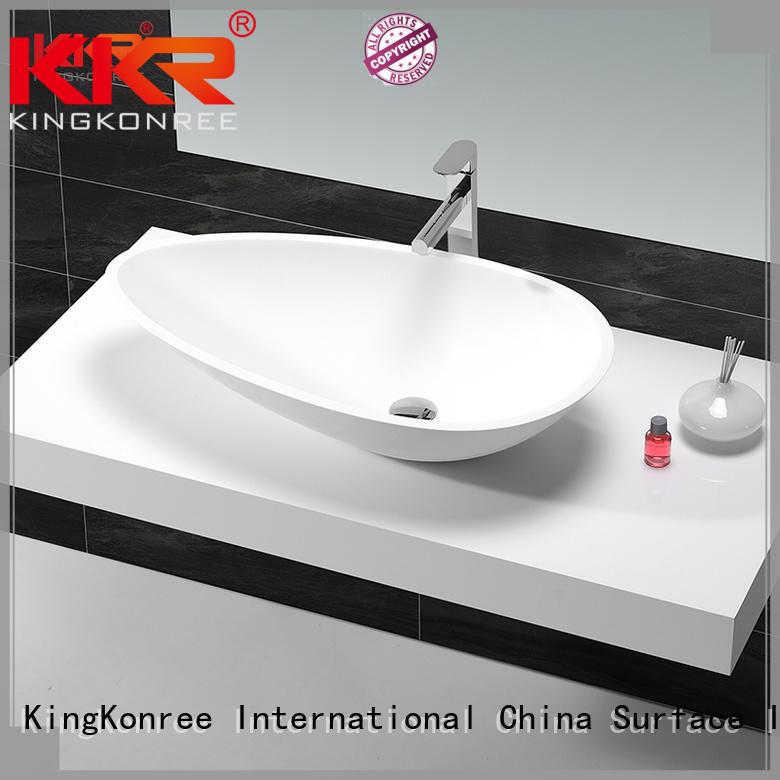 KingKonree above counter basins manufacturer for hotel