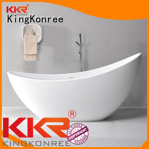 royal afrtificial solid surface bathtub storage KingKonree company