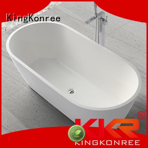 soaking b005 190cm solid surface bathtub KingKonree Brand company