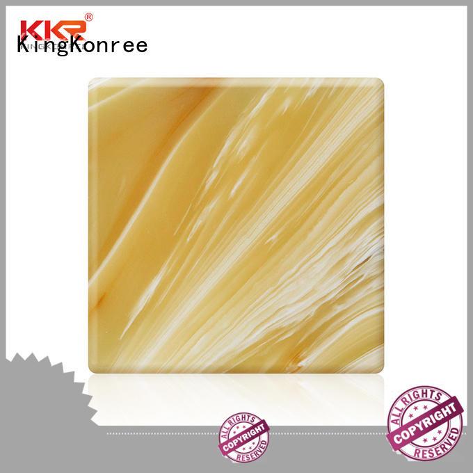 KingKonree wholesale acrylic sheets OEM for bathroom