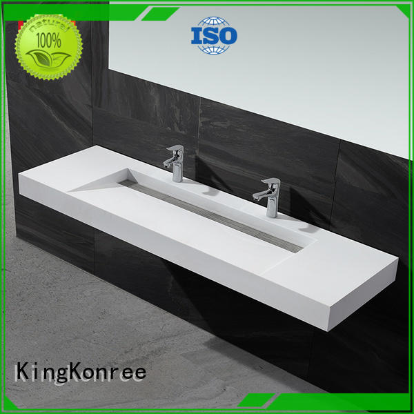 KingKonree modern stylish wash basin manufacturer for hotel