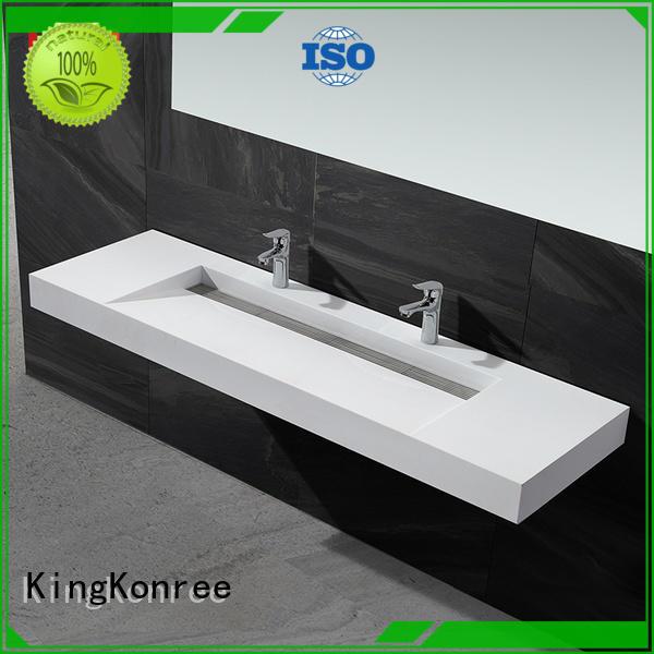 KingKonree modern stylish wash basin manufacturer for hotel