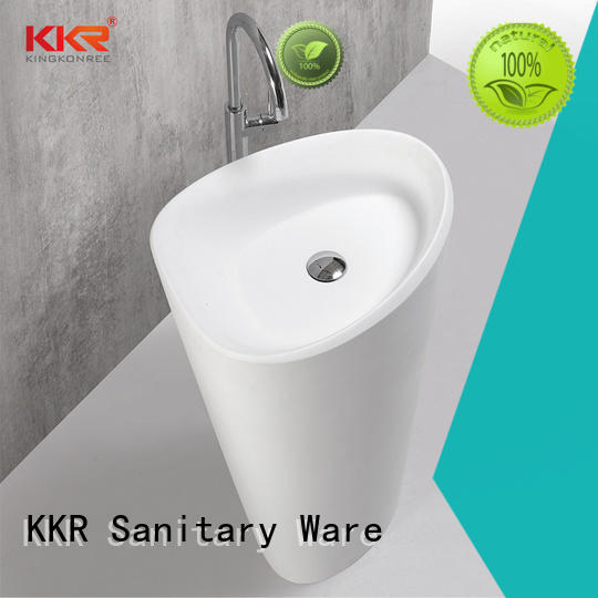 KingKonree floor standing basin customized for home