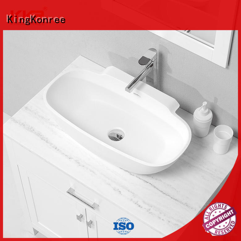 pure small countertop basin manufacturer for hotel